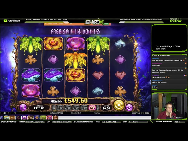 Firefly Frenzy MEGA BIG WIN Play n Go