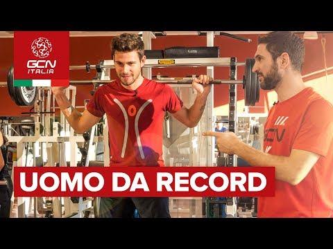 """GCN Italia vs Filippo Ganna I L'uomo da """"record"""""""