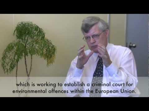 Proposed International Court on Environmental Crimes: Gustavo Gómez