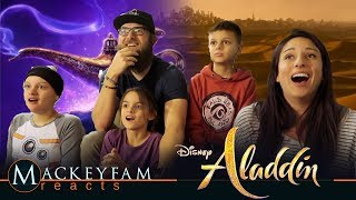 Disney's Aladdin Teaser Trailer- REACTION AND REVIEW!!!