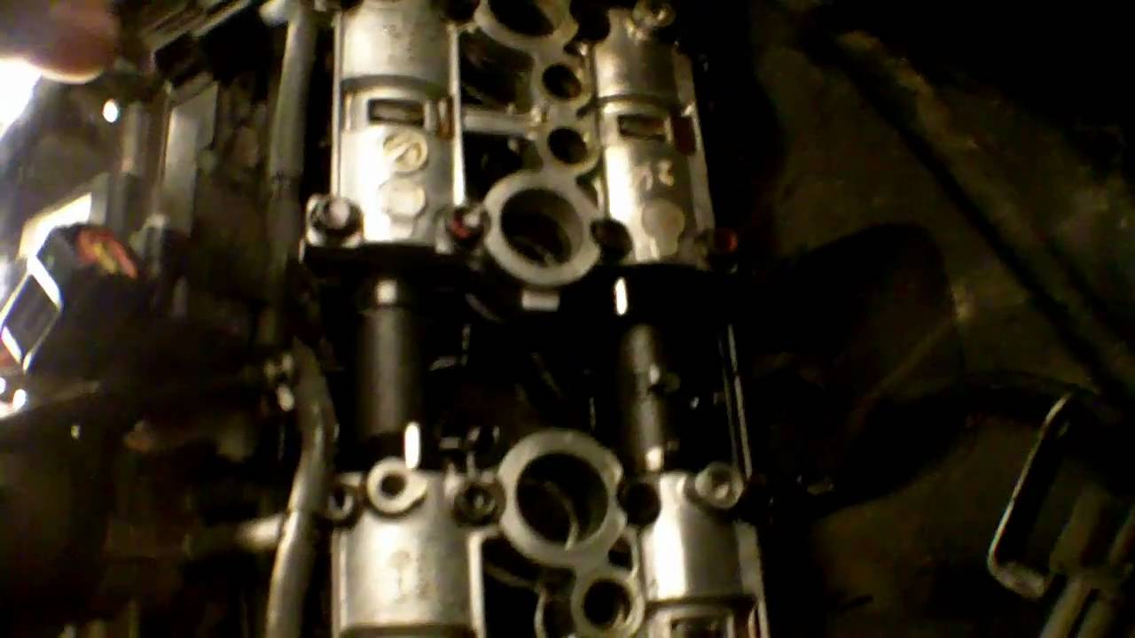 Valve Clearance Inspection On A Inline 4 Motorcycle Example
