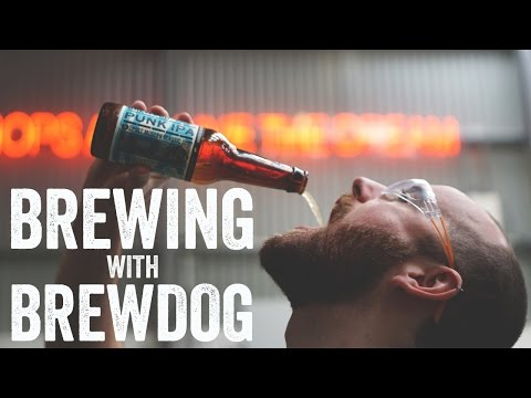 Brewing with Brewdog: Peach Therapy  The Craft Beer Channel