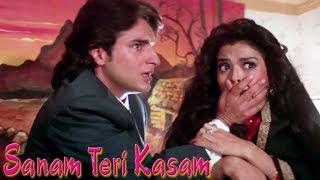 Saif Ali Khan sneaks into Sheeba's Bedroom - Part 4   Pooja Bhatt - Sanam Teri Kasam