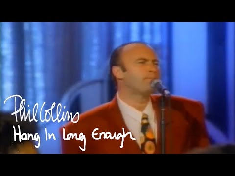 Phil Collins - Hang In Long Enough (Official Music Video)