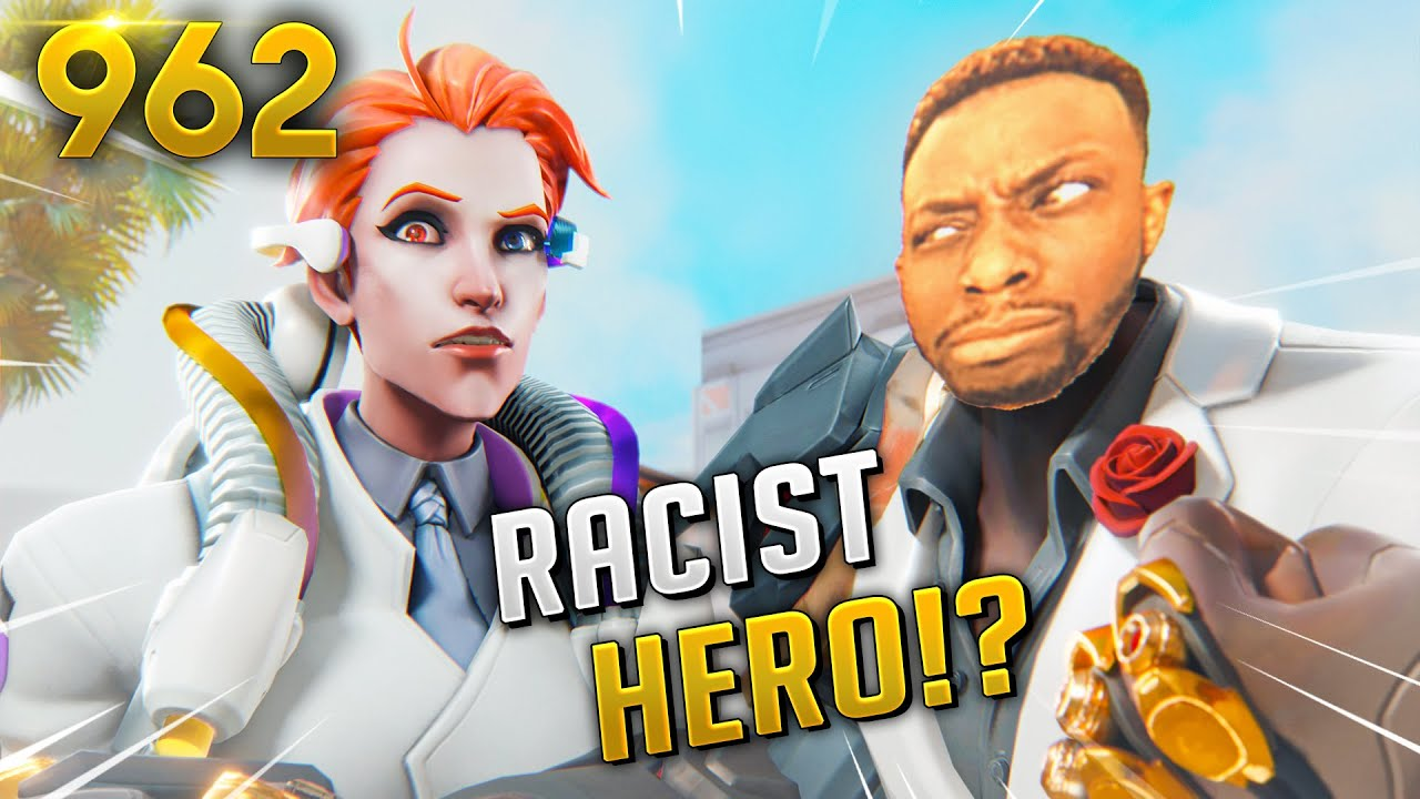 *WTF* IS MOIRA RACIST!? | Overwatch Daily Moments Ep. 962 (Funny and Random Moments) thumbnail