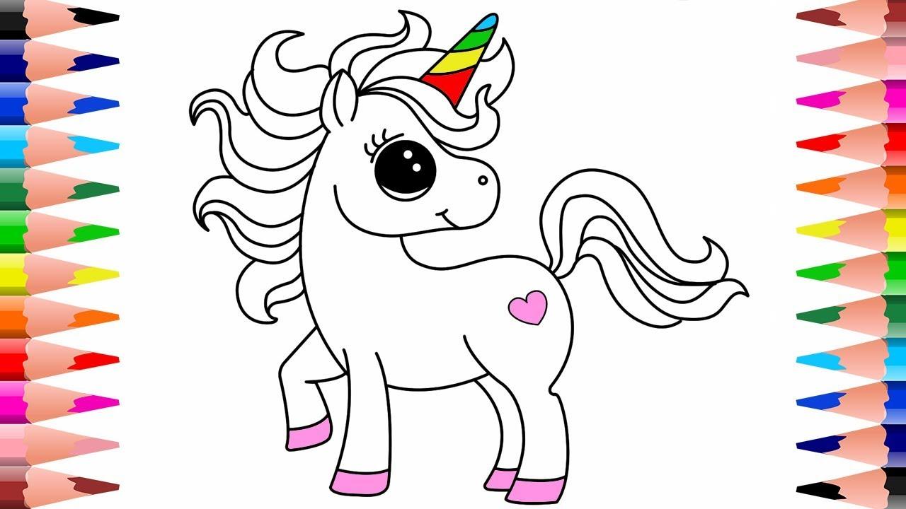 unicorn color pages # 32