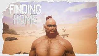 Building Our Home! Finding Our Purpose To The Team! Co-op W/ PartiallyRoyal - Conan Exiles -