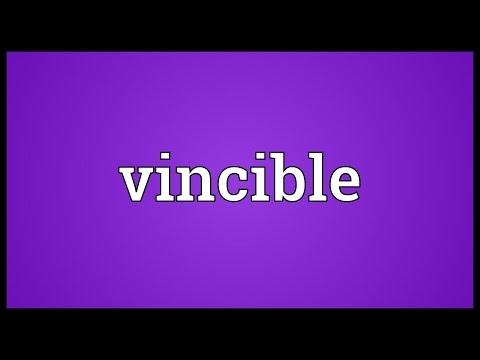Header of vincible