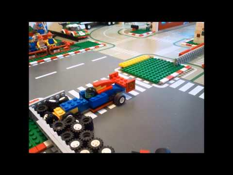 f1 crash max verstappen monaco 2015 with lego youtube. Black Bedroom Furniture Sets. Home Design Ideas