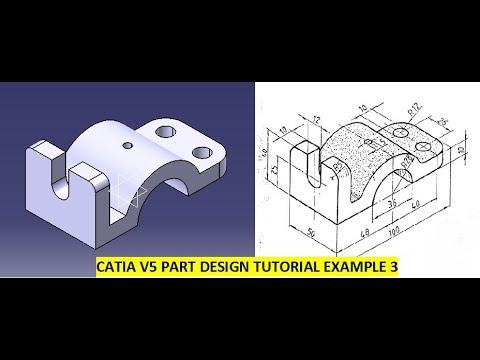 Catia Tutorial Part Design Examples   GrabCAD Tutorials