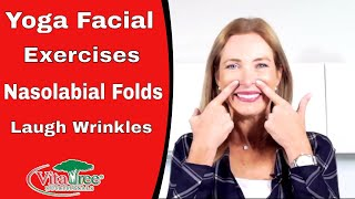 Facial Yoga Exercises Nasolabial Folds : Smooth Out Smile : Laugh Lines - VitaLife Show Episode 285
