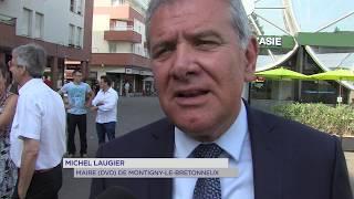 Montigny-le-Bretonneux : inauguration du centre Sud Canal