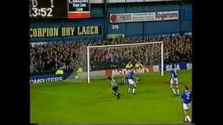 Everton v Newcastle United, December 18th 1993