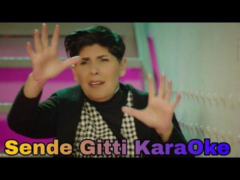 Sende Gittin (Cansever) Türkçe Piano Karaoke🎶🎤