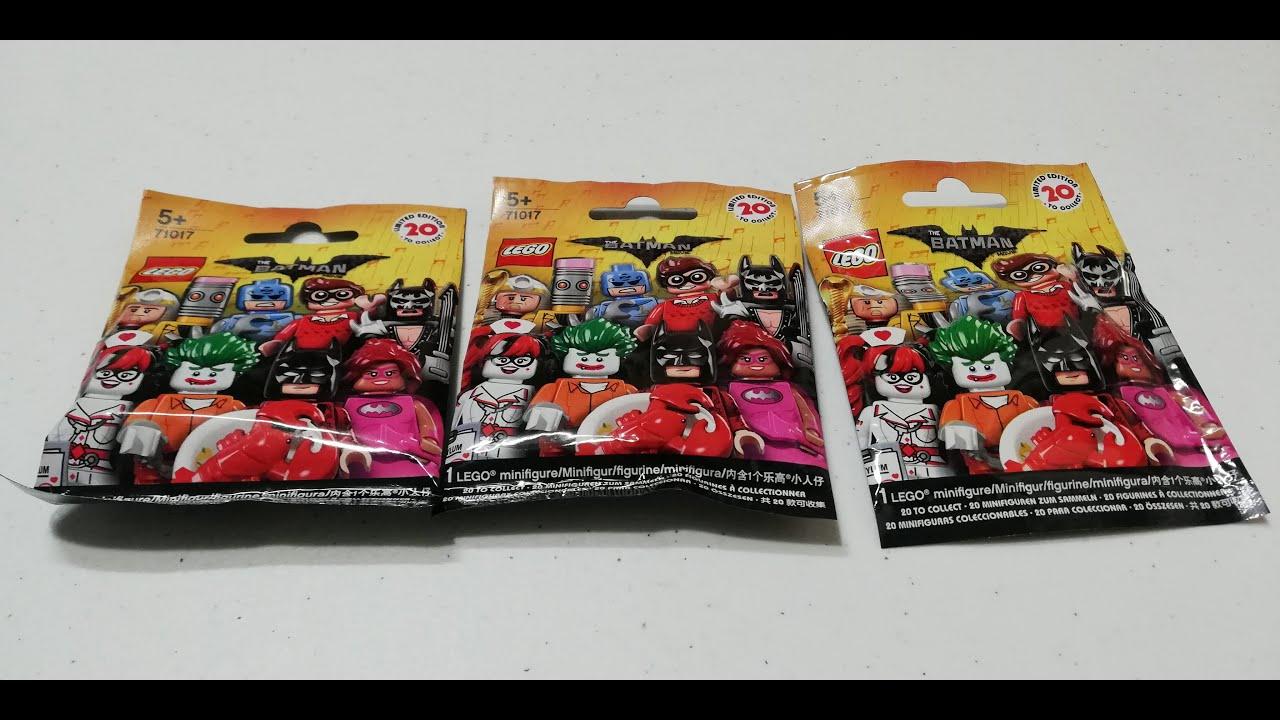 LEGO The Batman Movie: series 1 Glam Metal Batman new