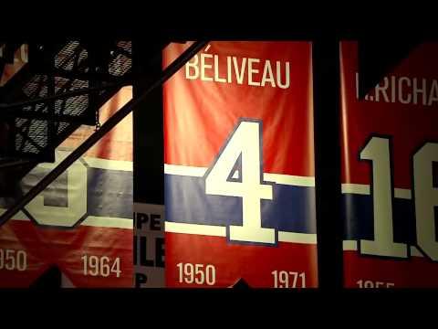 Jean Béliveau Pre-Game Ceremony - Canucks @ Canadiens - 12/9/2014 - HD
