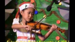 Violin Bach Minuet Giselle Ong age 5.