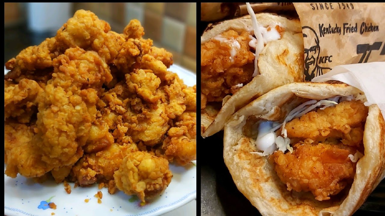 Zinger paratha roll recipe  - KFC style  - homemade chicken paratha roll