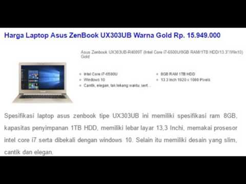 Harga Laptop Asus Core I7 Ram 8gb Terbaru Youtube