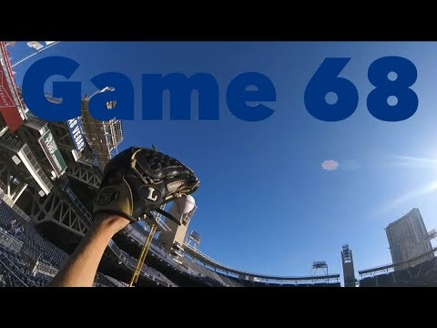 Ballhawking at Petco Park!