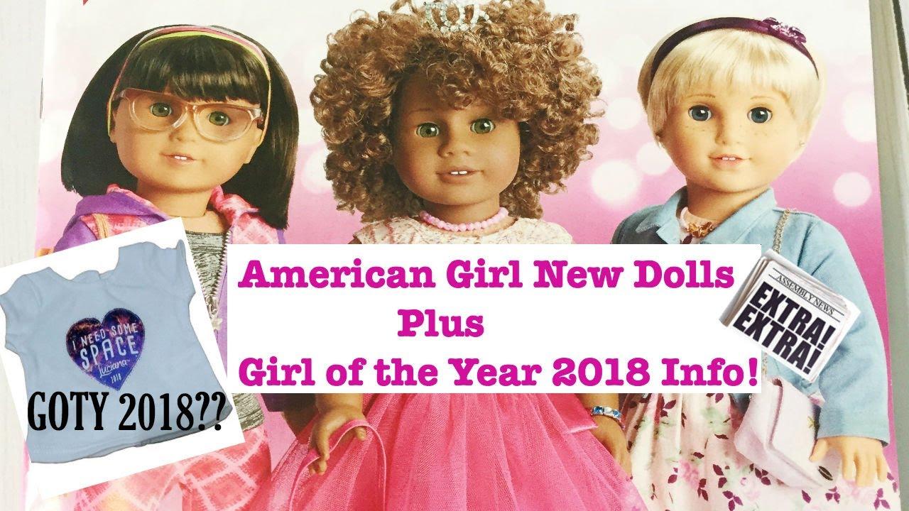 Ameriška punčka New Dolls Plus Dekle leta 2018 Info-6014