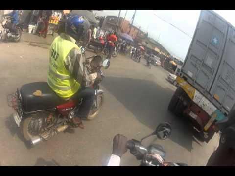 Okada Ride in Lagos, Nigeria