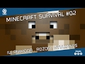 Minecraft Survival #02 - Team Survival /w Animoor /w Rozon /w Nyullancs