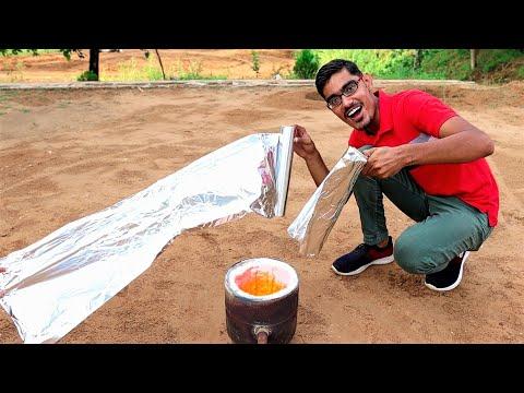 Can We Extract Aluminium Metal From Foil Paper? फॉइल पेपर से कितना एल्युमीनियम निकलेगा?