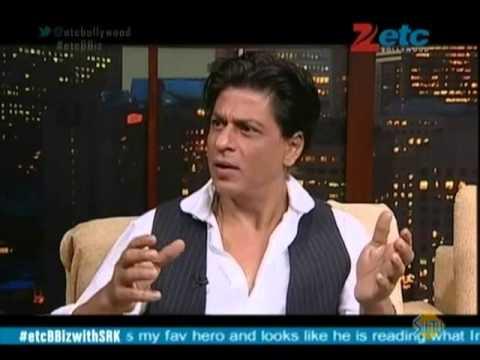 Shahrukh Khan With Komal Nahta