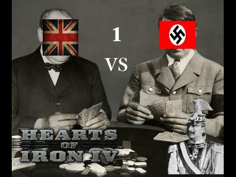 Hearts of Iron IV - UK - Playthrough - Ep 1