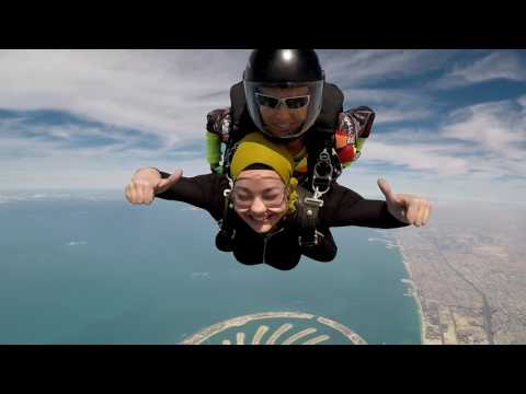 MALAK !! first Skydiving