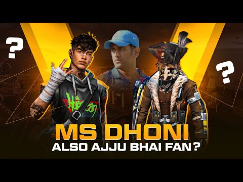 Clash Squad Op! Ms Dhoni also Ajjubhai Fan? Best Funny Gameplay – Garena Free Fire
