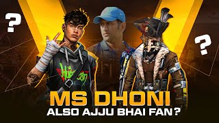 Clash Squad Op! Ms Dhoni also Ajjubhai Fan? Best Funny Gameplay - Garena Free Fire