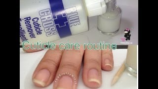Cuticle Care Routine by The Crafty Ninja