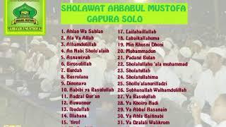3 Jam Full Sholawat Ahbabul Mustofa Gapura