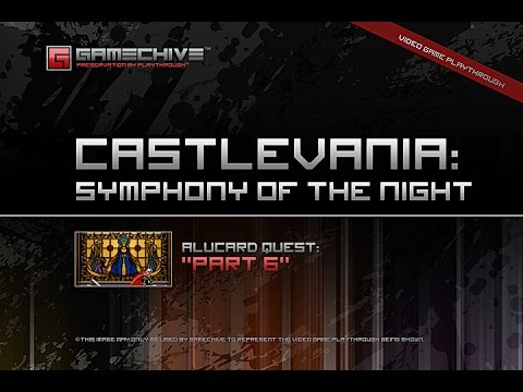 Castlevania: Symphony of the Night (PS) Gamechive (Alucard Quest, Part 6/20)