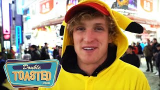 LOGAN PAUL JAPAN VLOGS GET WORSE - Double Toasted Podcast