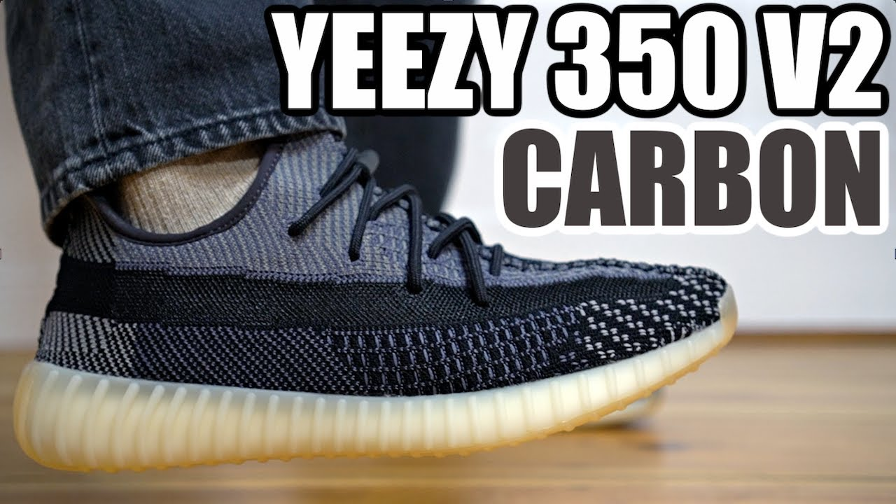 ADIDAS YEEZY 350 V2 CARBON REVIEW \u0026 ON