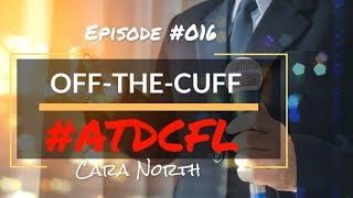 Cara North on Instructional Design Off-the-Cuff Episode #016