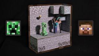 3D프린터로 움직이는 마인크래프트 속 한장면 만들기 […