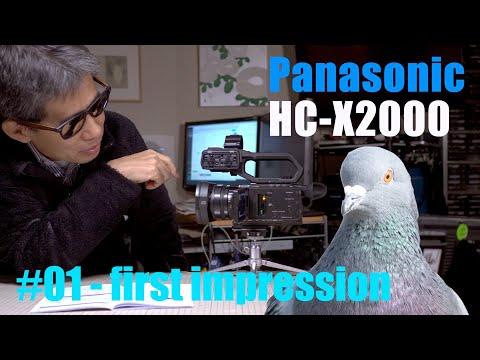Panasonic HC-X2000 Part1 First impression Ufer! VLOG_375