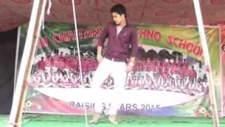Dance performance by santhosh