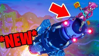 How to RIDE the ROCKET in Fortnite: Battle Royale *NEW* Easter egg