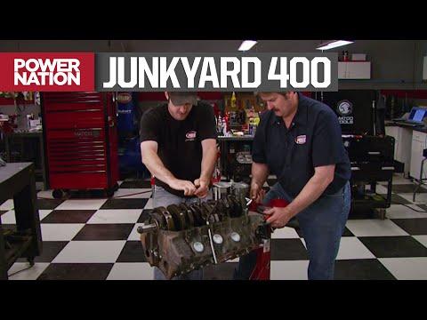 Re-Building A Junkyard Pontiac 400 Motor For $2,000 – HorsePower S12, E11