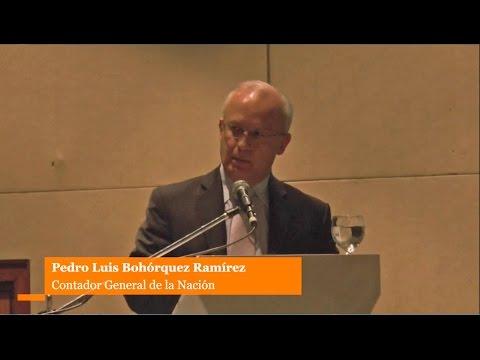 IV Congreso de NICSP 2015 Exponente Pedro Luis Boh�rquez Ram�rez - Contador General de la Naci�n
