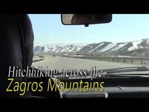Hitchhiking across the Zagros Mountains (Iran)