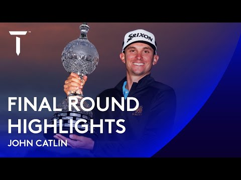 John Catlin claims second in four weeks | 2020 Dubai Duty Free Irish Open