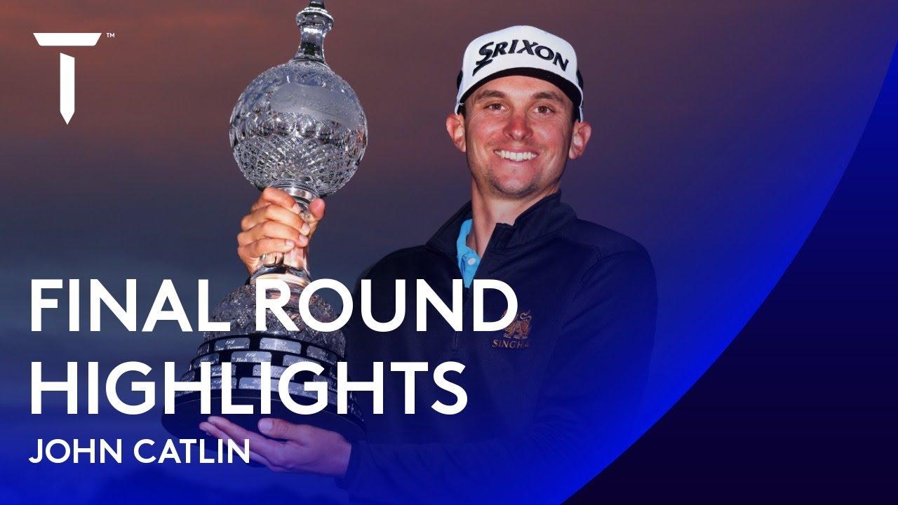 John Catlin claims second in four weeks | 2020 Dubai Duty Free Irish Open