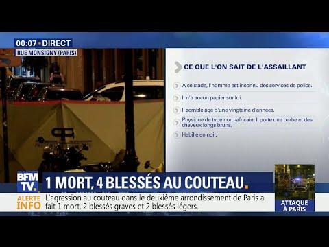 Attaque au couteau à Paris: ce que l'on sait de l'assaillant