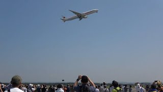 千歳基地航空祭2019・B-777訓練飛行